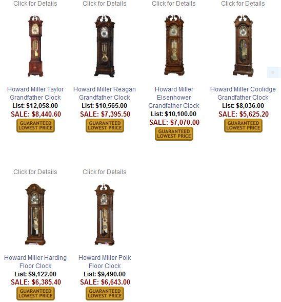 howard miller grandfather clocks - Howard Miller Clocks