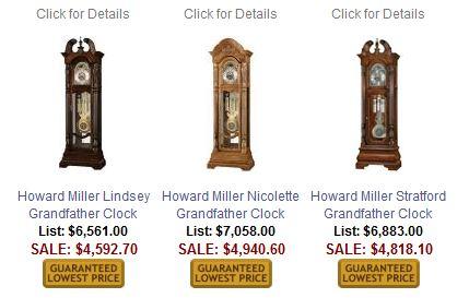 Howard Miller Ambassador Grandfather Clock Collection
