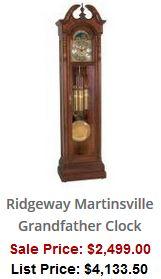 Ridgeway Grandfather Clocks